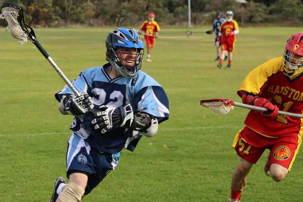 Play lacrosse in Australia