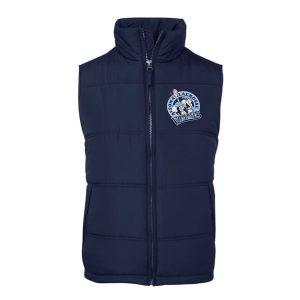 Altona Lacrosse Club puffer vest