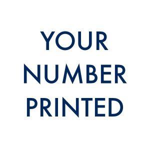 printed number